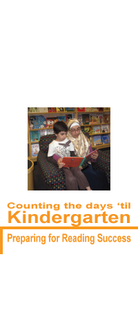Counting the days 'til Kindergarten: Preparing the way for reading success
